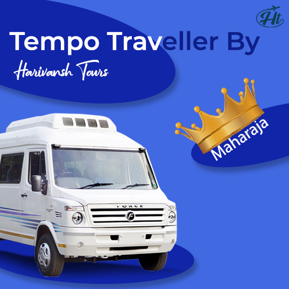 Maharaja Tempo Traveller on Rent in Jaipur